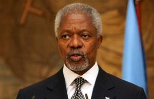 Ver vídeo  'Informe semanal - Kofi Annan, el pacificador'