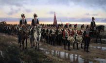 Ingenieros saliendo de Alcalá el 22 de mayo de 1808