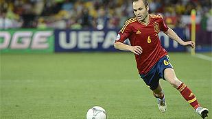 Iniesta, nombrado el mejor jugador de la Eurocopa 2012