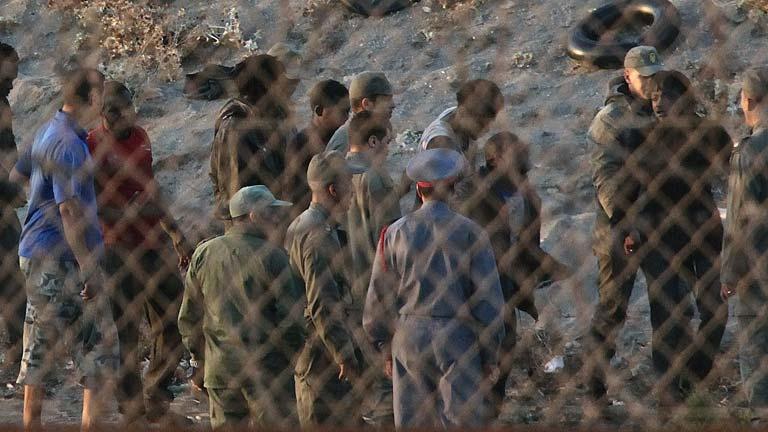Un grupo de 150 inmigrantes de origen subsahariano ha intentado saltar la valla en Melilla