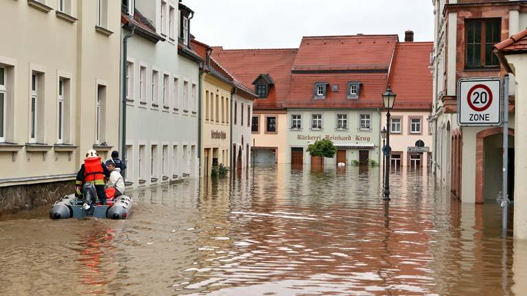 8 fallecidos y 10 desaparecidos en las inundaciones que afectan al centro de Europa