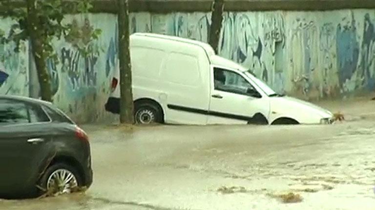 Fuertes tormentas en el norte de Barcelona dejan inundaciones en varios municipios