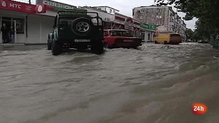 Decenas de muertos por inundaciones en Rusia