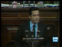 Adolfo Suárez fue investido presidente por el Congreso de los Diputados el 30 de marzo de 1979