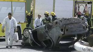 Ver vídeo  'Investigan si un conductor se mató adrede con su hijo en un accidente'
