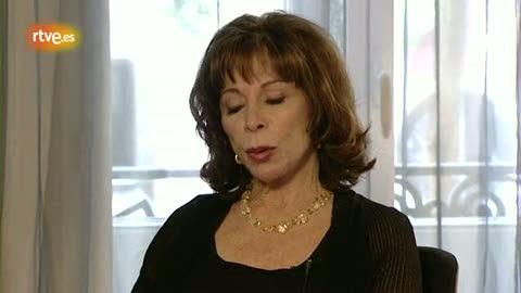 Ver v?deo  'Isabel Allende revive a Quevedo para 'Miradas 2''