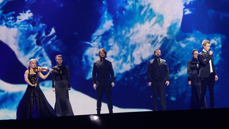 Islandia Eurovisi&oacute;n 2012 - Gr&eacute;ta Sal&oacute;me &amp; J&oacute;nsi - 1&ordf; semifinal