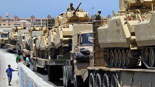 Ver vídeo  'Israel autoriza a Egipto a desplegar sus tropas en el Sinaí'