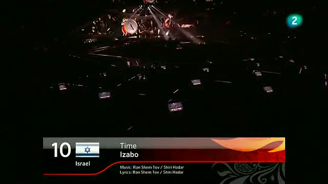 Israel Eurovisi&oacute;n 2012 - Izabo - 1&ordf; semifinal