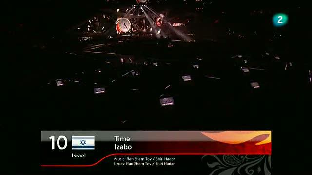 Israel Eurovisión 2012 - Izabo - 1ª semifinal