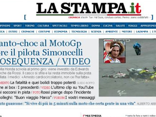 Ver v&iacute;deo  'Italia llora la muerte de Simoncelli'