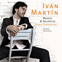 Iv&aacute;n Mart&iacute;n y el Ensemble Gald&oacute;s