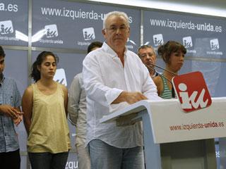 Ver vídeo  'Izquierda Unida solicita un referéndum sobre la reforma constitucional'
