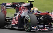 Jaime Alguersuari terminó en el puesto 11º en el GP de Australia.