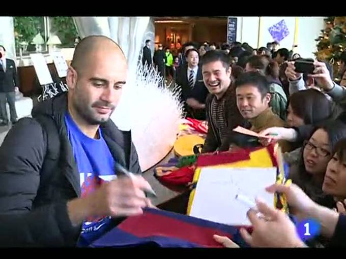 Ir al Video Japón despide al Barça