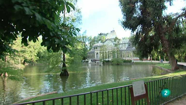 La mitad invisible - Jardines del Parque del Buen Retiro