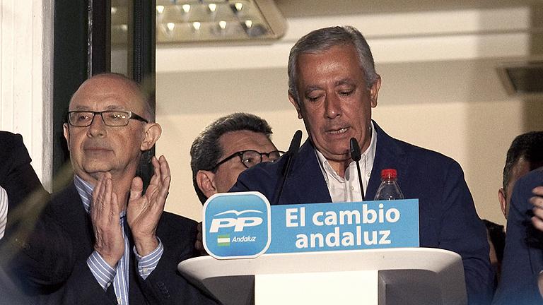 """Javier Arenas: """"Nos comportaremos como lo que somos: la fuerza más votada"""""""