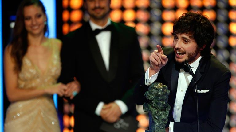 Javier Pereira, Goya a Mejor Actor Revelación por su papel en 'Stockholm'
