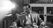 Jean Dujardin como George Valentin, la estrella del cine mudo venida a menos en 'The artist'.