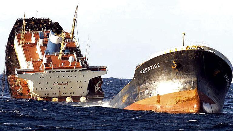 El jefe de máquinas del 'Prestige' dice que el petrolero funcionaba bien el día del accidente
