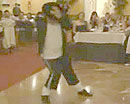 Jesús Ángel Navas, imitando a Michael Jackson en el concurso de imitadores de RTVE.es