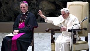 """Ver vídeo  'Jesús de las Heras, director de la revista Ecclesia: """"La renuncia del papa ha sido una sorpresa""""'"""