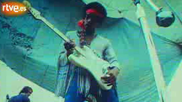 Jimi Hendrix en Woodstock