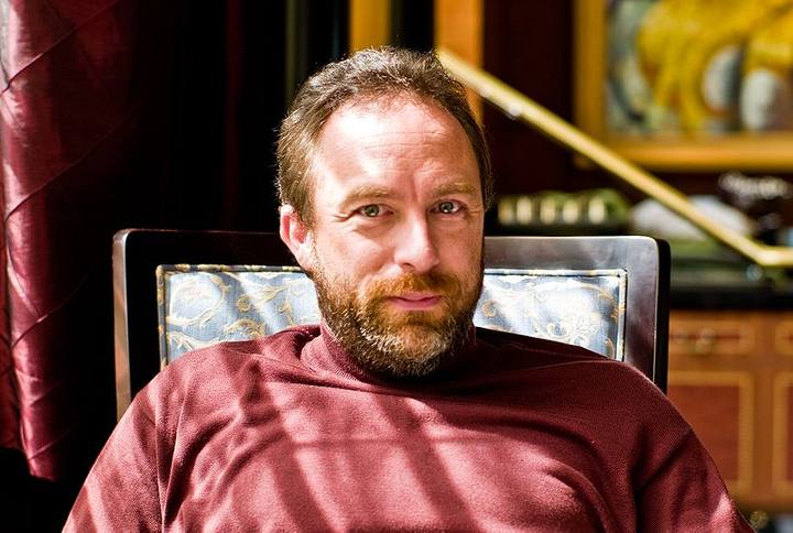 Jimmy Wales fundador de Wikipedia