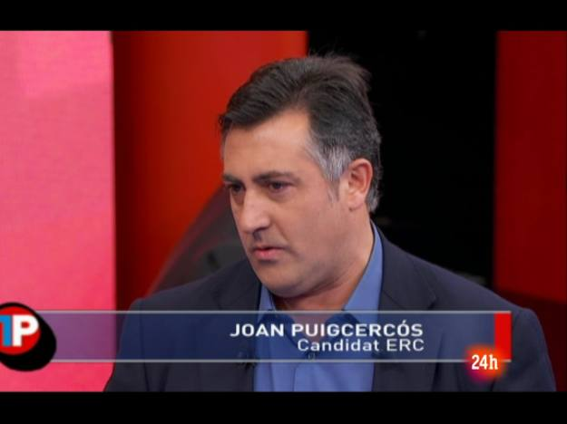 Ir al Video Joan Puigcercós: 'Yo le contestaré en catalán'