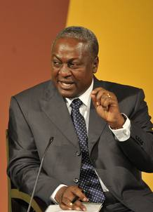 John Dramani Mahama, nuevo presidente de Ghana