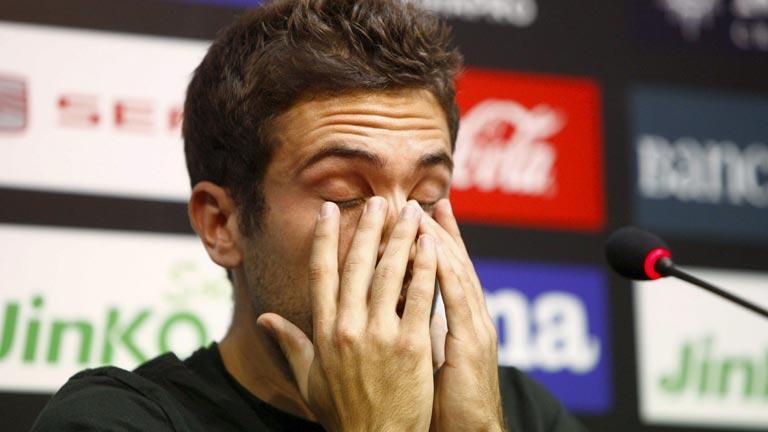 Jordi Alba se despide emocionado del Valencia