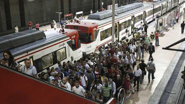 Jornada de huelga en RENFE ante la inminente liberalización del sector