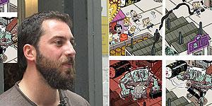 """José Domingo: """"Mi cómic es una auténtica locura"""""""
