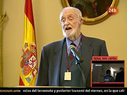 """Ver vídeo  'José Luis Sampedro: """"El día que se nace se empieza uno a morir""""'"""