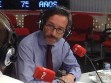 José María Lassalle, en los estudios de Radio Nacional.