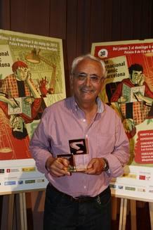 José Ortíz, Gran Premio del Salón del Cómic de Barcelona 2012