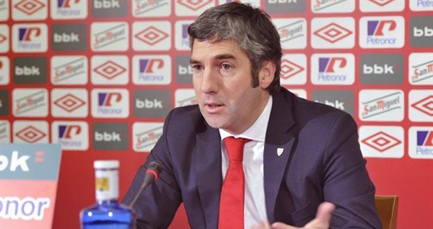 Urrutia se queda solo en la carrera a la presidencia del Athletic Club
