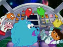 Imagen del  vídeo de Dora la Exploradora en inglés titulado Journey to the Purple Planet
