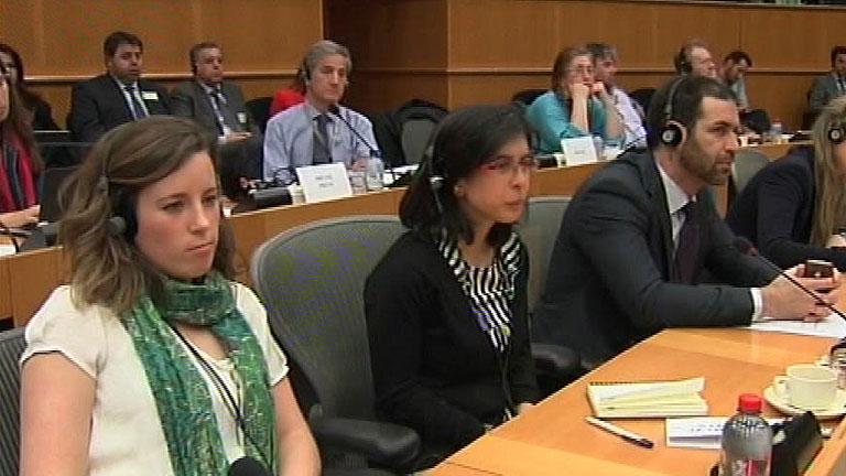 Una joven española con discapacidad cumple un sueño al trabajar en el Parlamento Europeo
