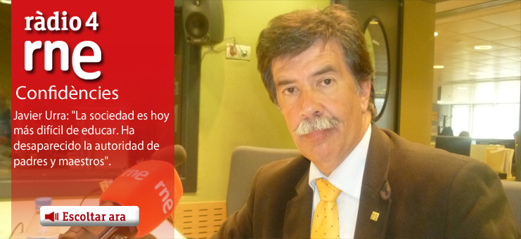 Imagen Confid&egrave;ncies - Javier Urra: &quot;La sociedad es hoy m&aacute;s dif&iacute;cil de educar. Ha desaparecido la autoridad de padres y maestros&quot;