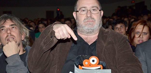 Juan Martínez Moreno con el Premio de la crítica de Fantasporto