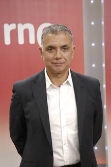 Juan Ramón Lucas, director y presentador de 'En días como hoy' en Radio Nacional.