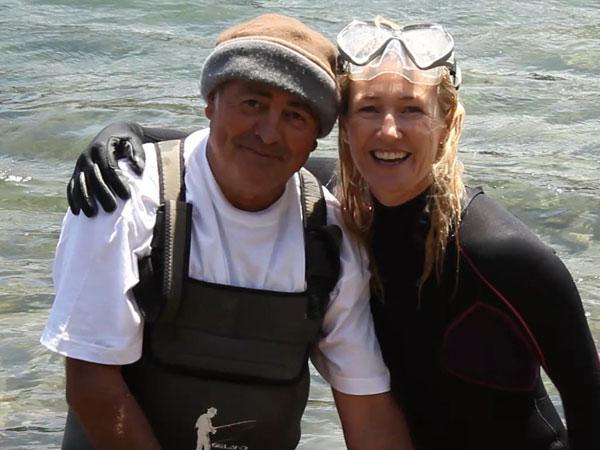 """Juan, recolector de ortigas de mar: """"Si volviera a nacer volvería a ser mariscador de nuevo"""""""