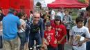 El ciclista Juanjo Cobo, sonriente
