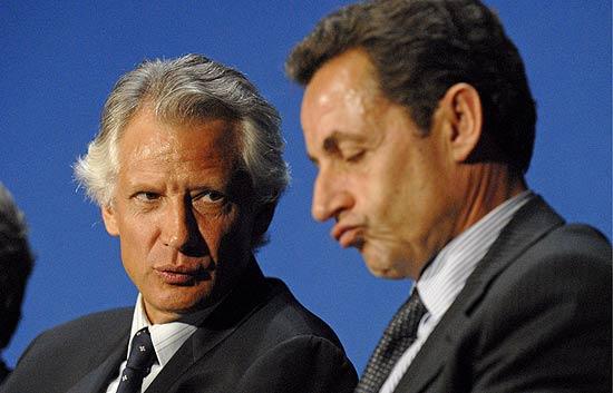 Villepin, en el banquillo; Sarkozy, acusador
