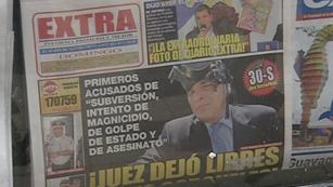 Ver vídeo  'Los jueces dan la razón a Correa en su lucha contra la prensa'