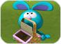 Imagen del  juego de Todo es Rosie titulado Atrapa las frutas con Raggles