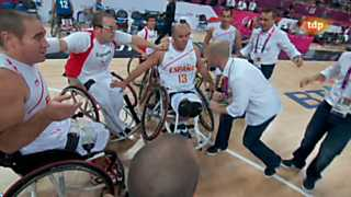 Ver v&iacute;deo  'Juegos Paral&iacute;mpicos Londres 2012 - Baloncesto: Espa&ntilde;a-Italia'