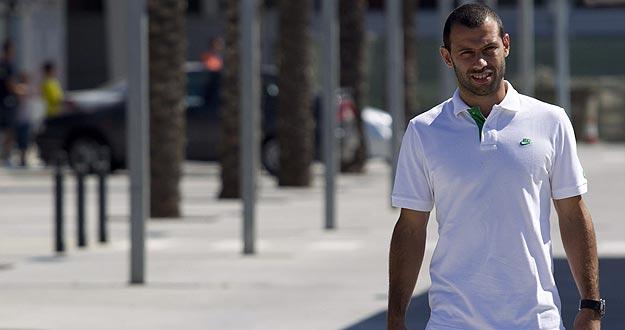 El jugador argentino del FC Barcelona Javier Mascherano en una imagen de archivo.
