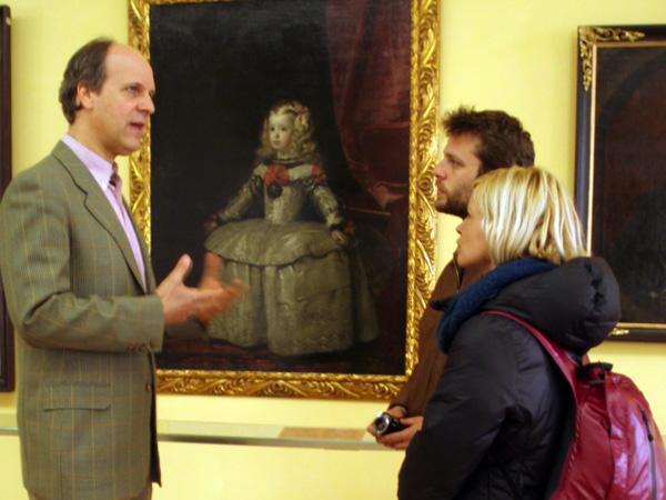 Junto al Sr. Lobkowicz, el propietario del museo en el Castillo de Praga - Buscamundos